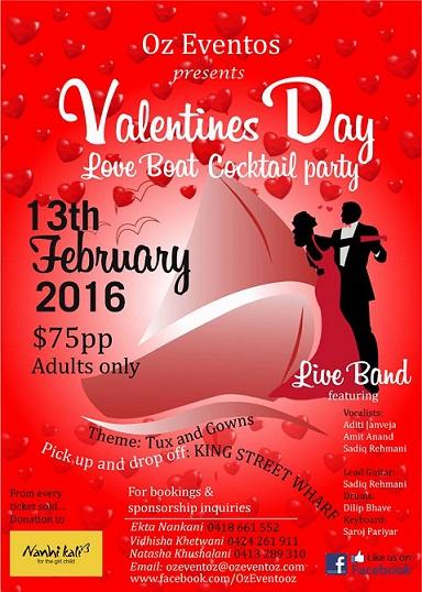valentines day sydney
