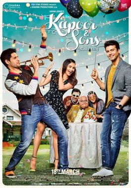 Kapoor and Sons hindi movie in Australia