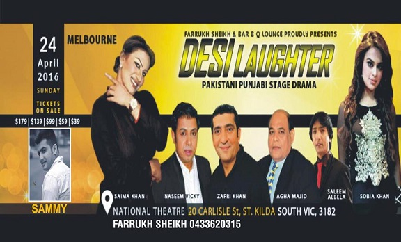 Desi Laughter drama in Melbourne