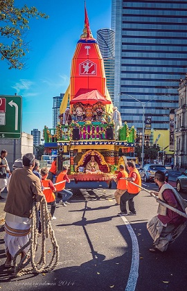 FESTIVAL OF CHARIOTS IN BRISBANE