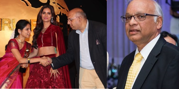 Dhruv Saxena and Sonia Nair receive Times Now NRI Of The Year 2016 Awards