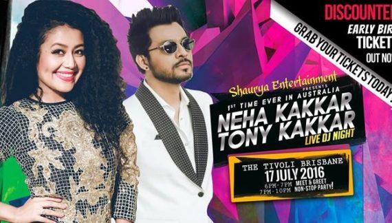 Neha Kakkar Live in Melbourne and Brisbane