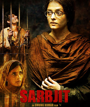 Hindi Movie Sarbjit Screening details for Australia (Melbourne, Sydney, Perth, Adelaide and Brisbane)