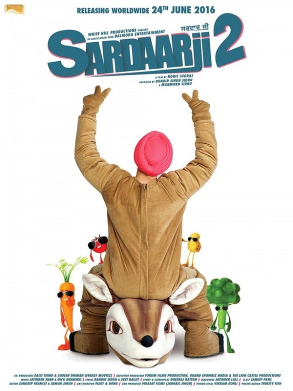 sardarji 2 movie in Australia