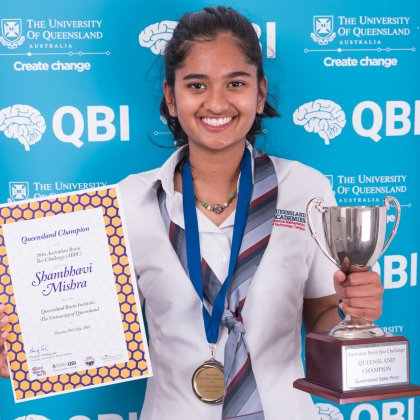 Queensland brain bee champion
