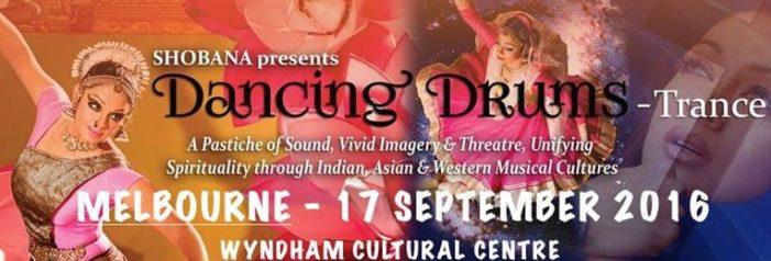 Shobhana's Dancing Drums in Melbourne