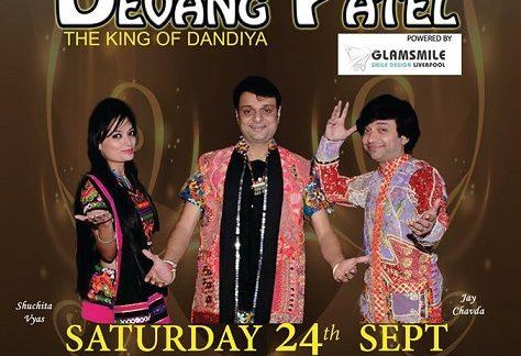 "DEVANG PATEL ""King of Garba – dandiya"" Live in Sydney, Melbourne. Perth and Adelaide"