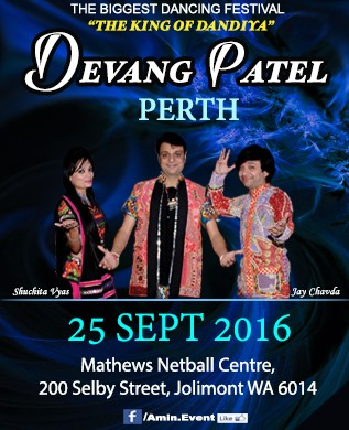 Devang patel garba dandiya in perth