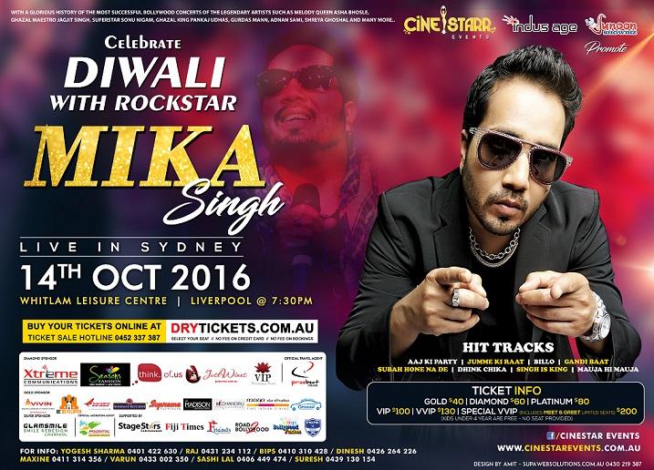 Mika Singh in Sydney