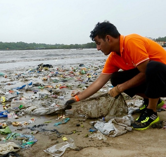 Mumbai's Versova Beach Clean Up attracts global attention