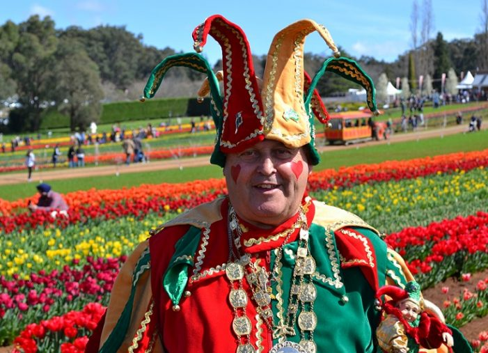 The Tesselaar Tulip Festival in Melbourne