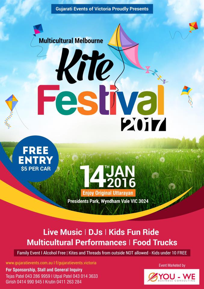 Kite Flying Festival 2017 in Sydney