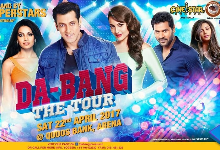 Salman Khan and Team's Da Bang 2017 in Melbourne and Sydney