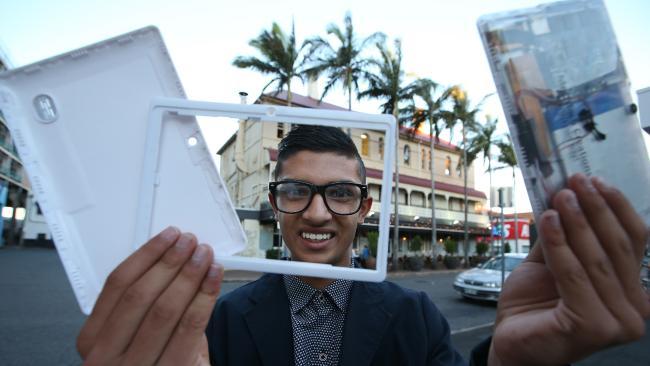 Taj Pabari is Queensland's Young Australian of the Year 2017