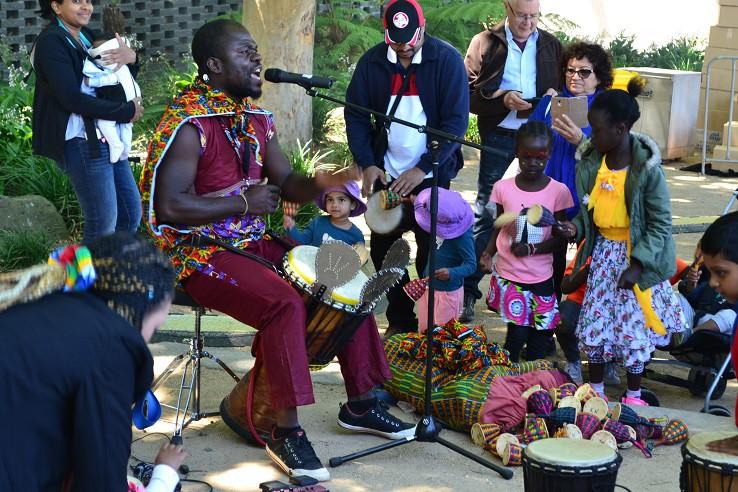 african-drummer