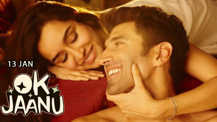 OK Jaanu Hindi movie screening details for Australia (Melbourne, Sydney, Perth, Adelaide, Brisbane and Perth)
