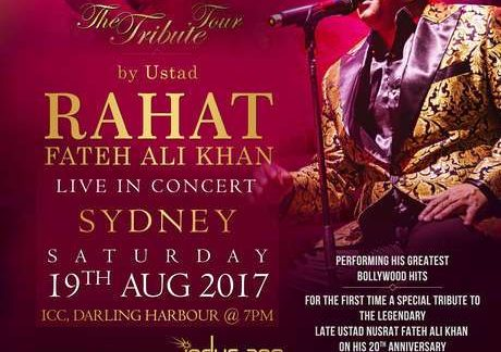 Rahat Fateh Ali Khan's Concert in Brisbane and Sydney