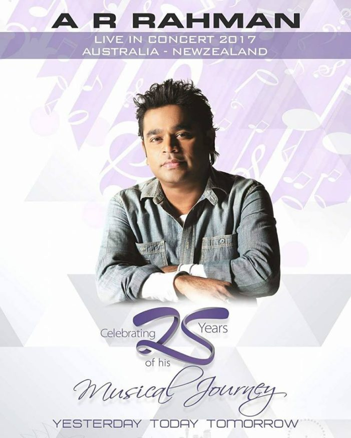 A.R. RAHMAN LIVE CONCERT IN MELBOURNE AND SYDNEY