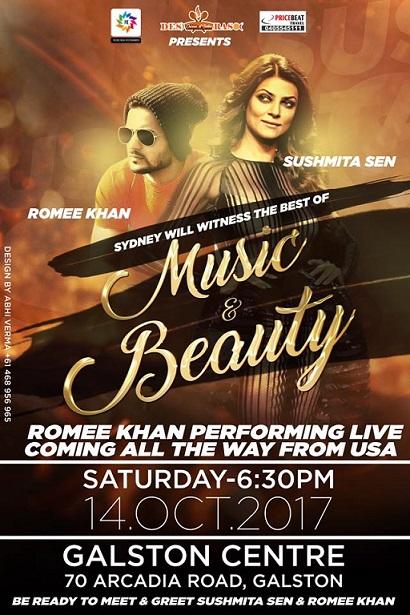 Romee Khan Performing in Sydney