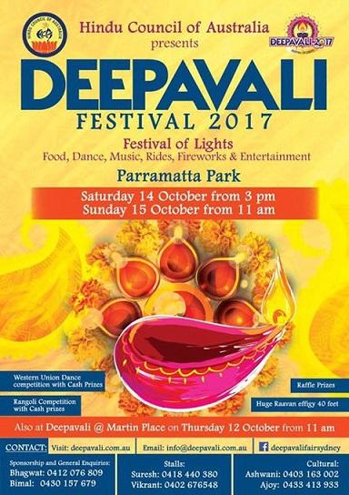 Diwali Celebrations in Sydney 2017