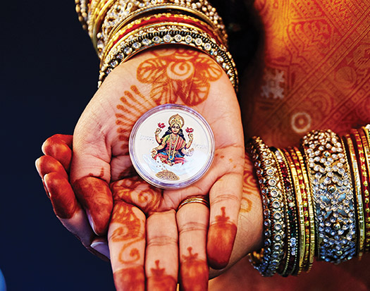 Diwali Festival Silver coin by Perth Mint – A perfect gift for Diwali