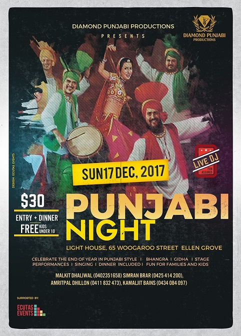 Punjabi Night in Brisbane