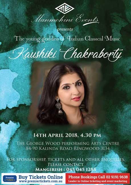 Kaushiki Chakraborty's Melbourne Concert
