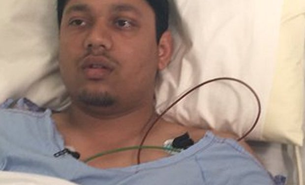 Domino's worker Anand Singh shot in chest and hand during robbery in NSW