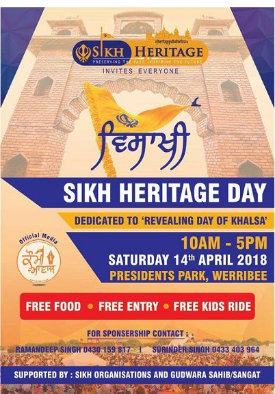 Sikh Heritage Day in Melbourne