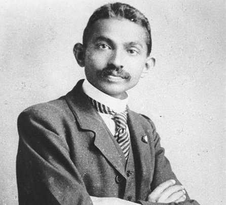 Do you know when was the first time Mahatma Gandhi was mentioned in Australian Newspapers?