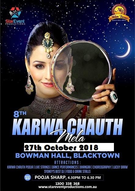 Karwa Chauth Mela in Sydney 2018