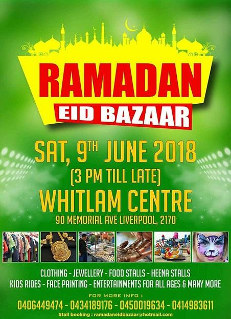 Ramdan Eid Bazaar in Sydney
