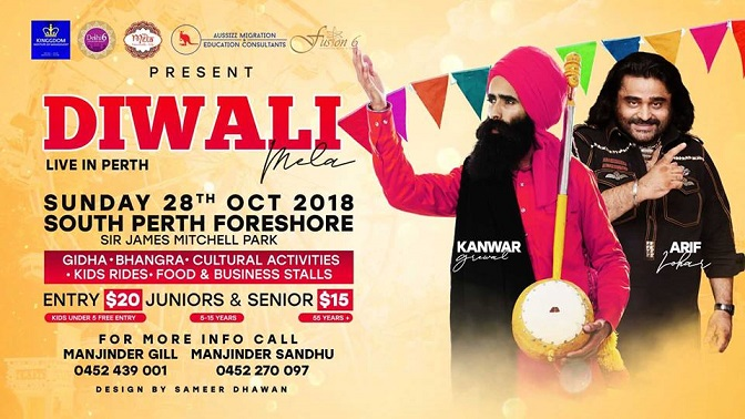 Diwali Celebrations in Perth 2018