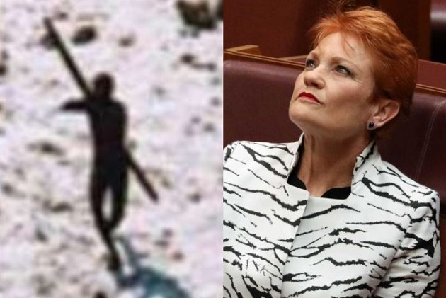 Do you think aborigines have the right to eliminate Pauline Hanson?