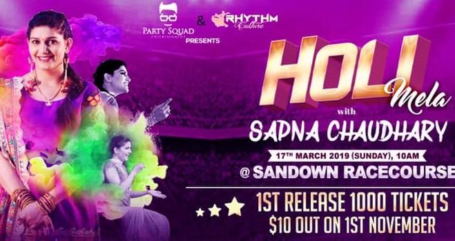 Holi date in Australia