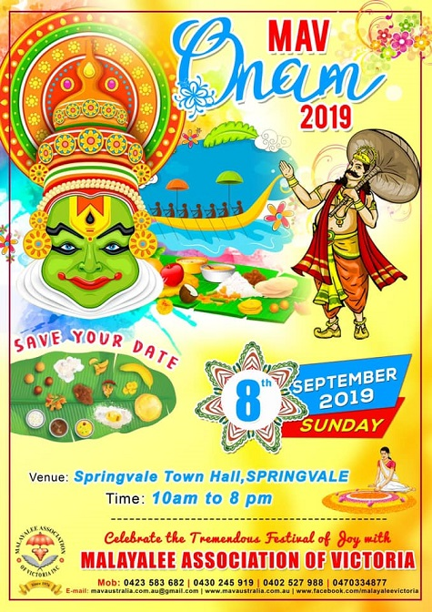 Onam Celebrations in Melbourne 2019