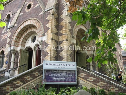 St Michael's Uniting Church in Melbourne