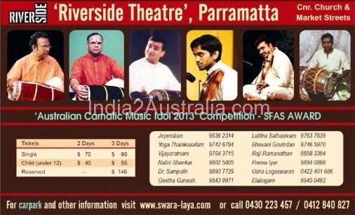 Carnatic Music Festival Sydney