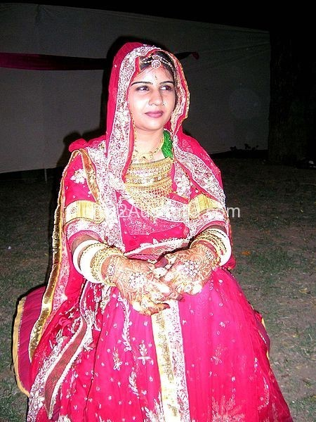 rajput bridal dress