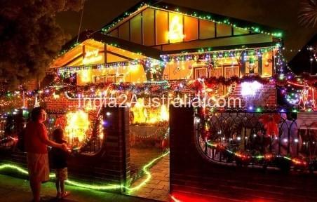 Sydney Christmas lights
