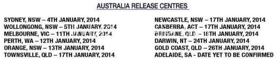 australia release centres for drishyam