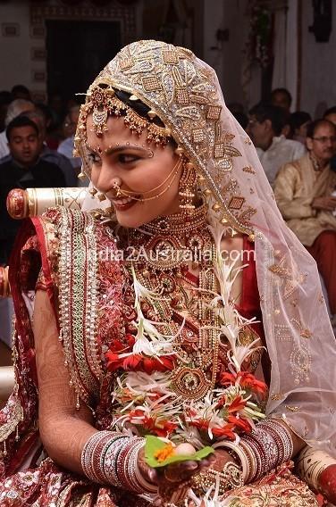 Gujarati wedding dress