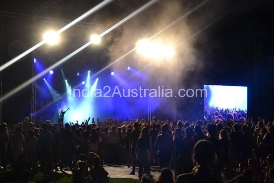 Indie stage at whitenight