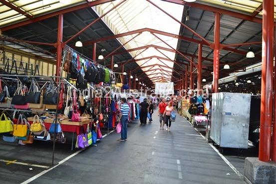 Inside Victoria Market Melbourne
