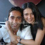 Reetika Ajjan and her husband Jeetender Ajjan