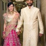 Dhawan and Ayesha marriage photo