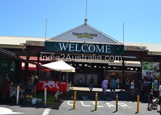 Victoria Market entrance