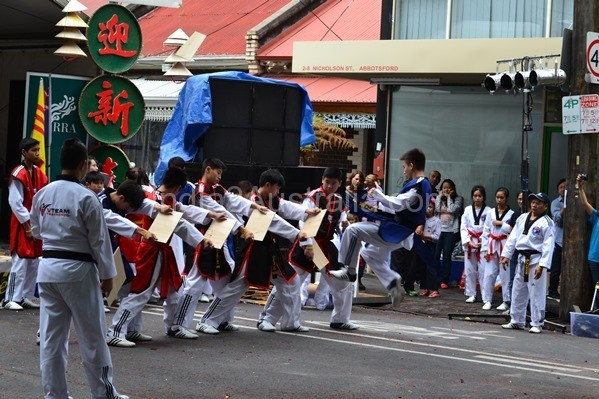 Vietnamese newyear martial arts