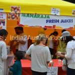 Indian Food stall at St Kilda Festival