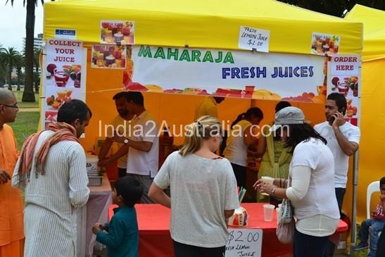 st kilda festival food stalls